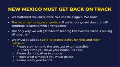 New Mexico Governor gives Covid update 070920